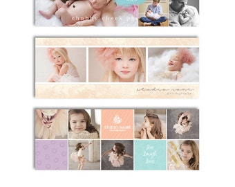 Photography Facebook Cover Templates - 3Pak Bundle - 1094