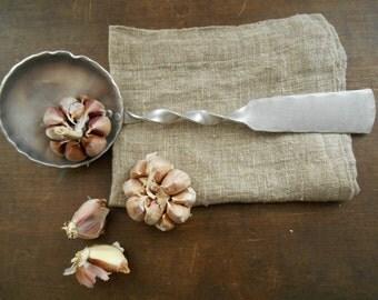 Aluminum Soup ladle Metal ladle Handmade soup spoon Farmhouse kitchen decor