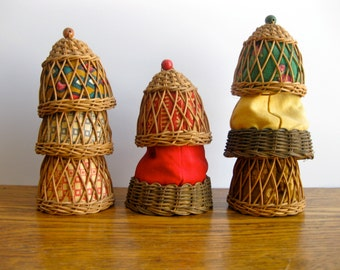 Vintage Set of Scandinavian Egg Warmers