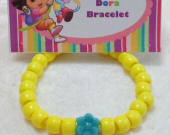 PARTY PACK Dora Bracelet Craft Kit