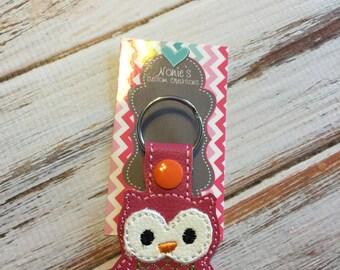 Owl Keychain - Owl Key Chain - Bird Keychain - Animal Keychain - Owl Accessory