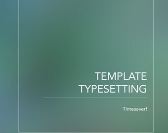 Save Time with Typesetting Services! Transfer Your Current Resume to Your Template In No Time!