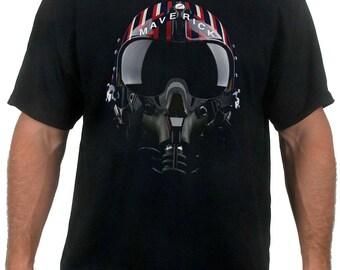 Maverick Top Gun Motorcycle Helmet