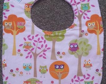 Owl Tree Bib