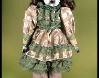 "Darcie 15"" Creepy Scary OOAK Hand Painted and Altered Porcelain Doll"