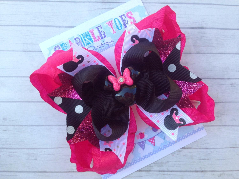 Minnie mouse bow princess minnie princess bow minnie - Princesse minnie ...