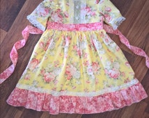 Brianna Easter Dress, Girl Toddler Spring dress, Boutique Dress Dress, sizes 18 months, 2t, 3t, 4, 5, 6, 7, 8