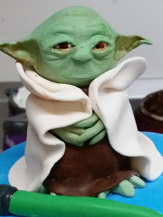 Yoda Birthday Cake Topper
