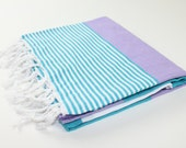 Premium Beach Towel, Peshtemal, Fouta, Turkish Towel, Wedding Gifts, Beach Party, Pareo, Bachelorette Party, Bridesmaid Gift