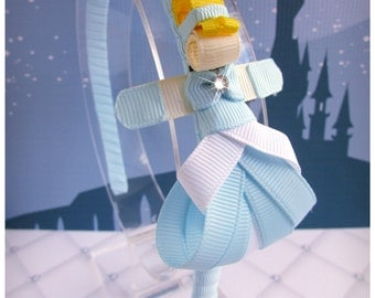 Princess Cindy Ribbon Sculpture Headband.