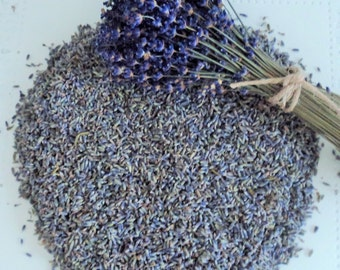 DRIED LAVENDER, 1 lb high grade, Lavender buds, ecofriendly wedding, something blue, Biodegradable Confetti, Lavendar, Wedding Confetti