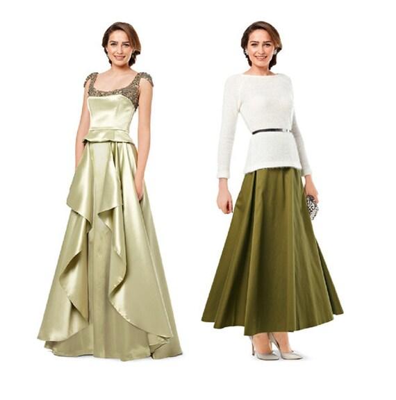 Evening Skirt Patterns 68