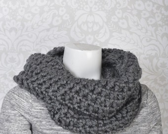 2-Way Cowl Snood Grey