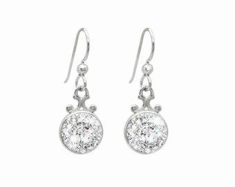 Crystal Clear Swarovski Crystal Dangle Earrings, Swarovski Crystal Dangle Drop Earrings, Bridal Earrings, Gift For Her