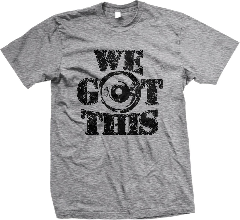 We got this men 39 s gym t shirt workout shirt free for Free gym t shirts