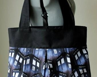 Large Size Doctor Who Shoulder Bag- Tardis