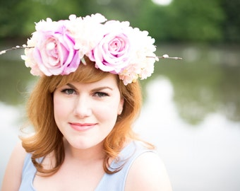 Caleigh's Crowns - Princess Flower Crown