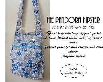 Pandora Hipster: DIGITAL Sewing Pattern