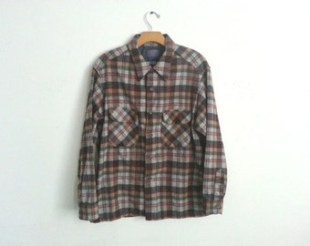 Vintage Pendleton Board Shirt Men's Medium