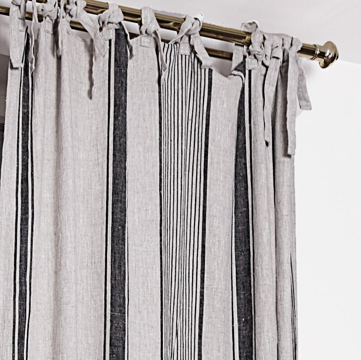Cotton & Linen Curtains If you're looking for a fabric that lets in more light and can be easily-maintained, linen curtains are your answer. Perfect for virtually any room in the house, linen can be lined for light control, or unlined for a bright and breezy home.
