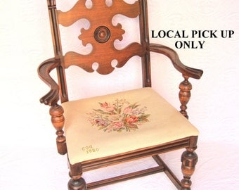 Antique Mahogany Paine Furniture Chair