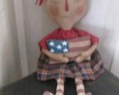 Americana Annie Doll