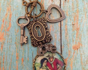 Love, Cowgirl Charm Necklace