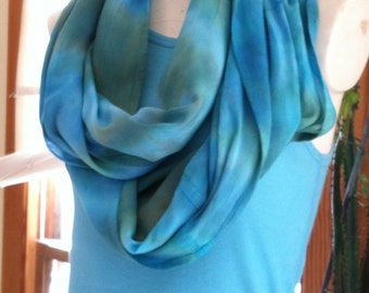 Deluxe rayon Infinity scarf