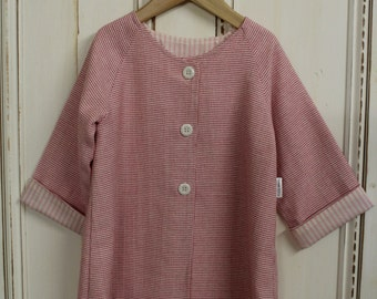 Pink Coat - Size 12-18mths