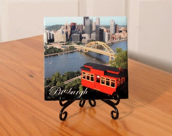 Pittsburgh/Incline tile with stand