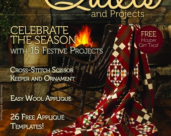 Magazine: Winter 2014 Primitive Quilts and Projects