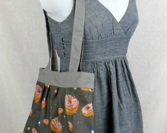 Space Donut Tote Bag