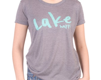 Lake Happi Super Soft Womens Triblend Tee