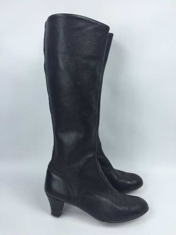 size 7 5 leather boots
