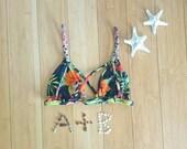 The 'Mahina' Strappy Back Bikini Top