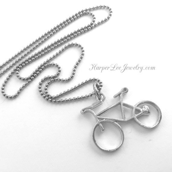 Items similar to hand cast pewter bicycle charm bike for Ride or die jewelry