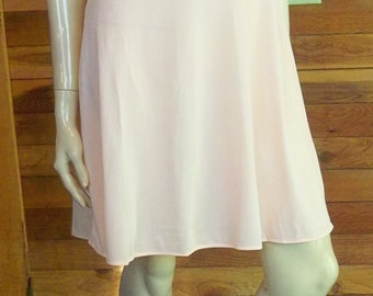 Vintage Lingerie 1960s SUZY STAR Junior Pink Nightgown Size 11 Style 992