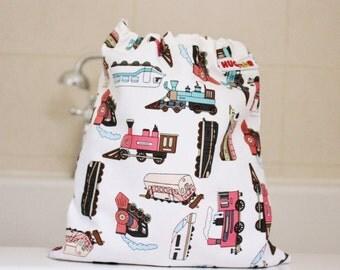Boy's Train Wash Bag