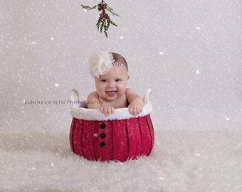 Christmas Headband, XL headband, Holiday Headband, Baby Headband, Toddler Headband, Photo Prop