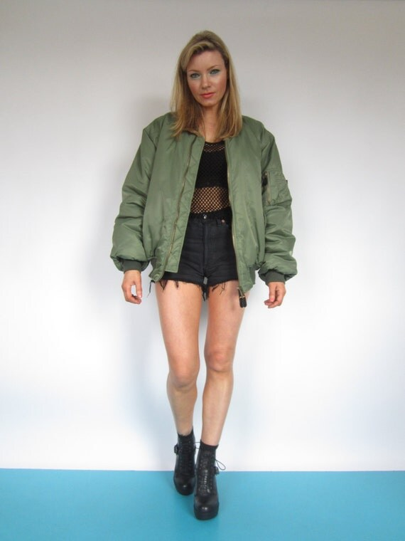 Oversized Bomber Jacket | Outdoor Jacket