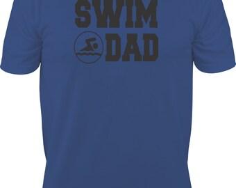 Swim Dad Shirt/ Swim Shirt/ Swimming Dad T-Shirt/ Swimming Gifts/ Swimming Shirt