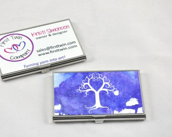 Custom Printed Business Card Holder