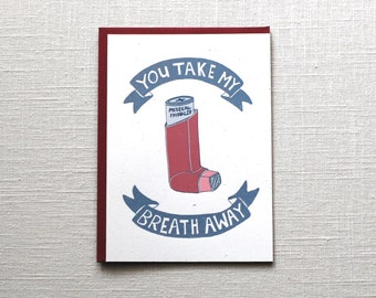 Love Card: Take My Breath Away
