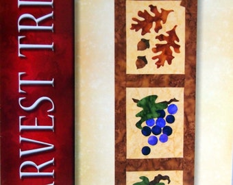 Harvest Trio By Jeri Kelly Wall Quilt Pattern Packet 2010