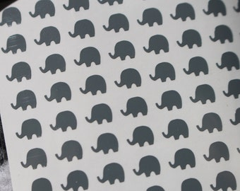 Elephant Nail Decals