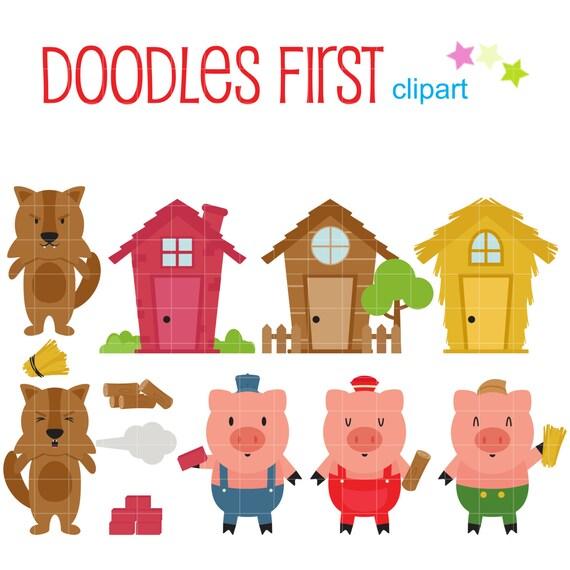 Little Pigs Puppet Craft
