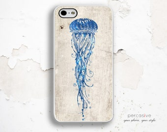 iPhone 6 Case Jellyfish - iPhone 5C Case, iPhone 4 Case, iPhone 5s Case, iPhone 6 Plus Case, JellyFish iPhone 6 Case Nautical :0868