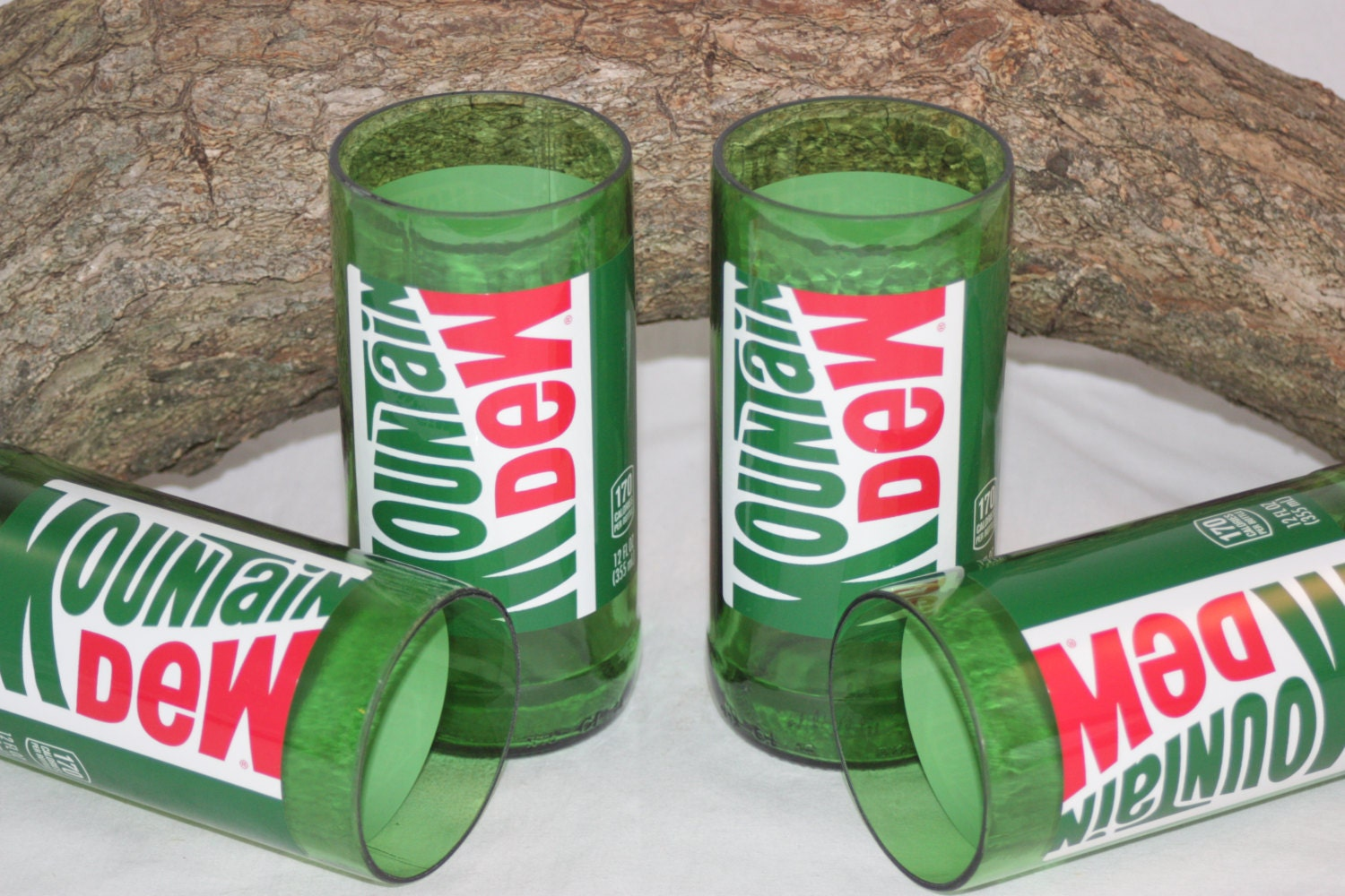 Mountain Dew Drinking Glasses