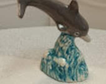 Small Ceramic Dolphin