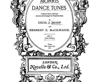 Morris dances tunes English 1900's over 100 tunes digital download Morris Sides, Jack in the Green bargain just 49p